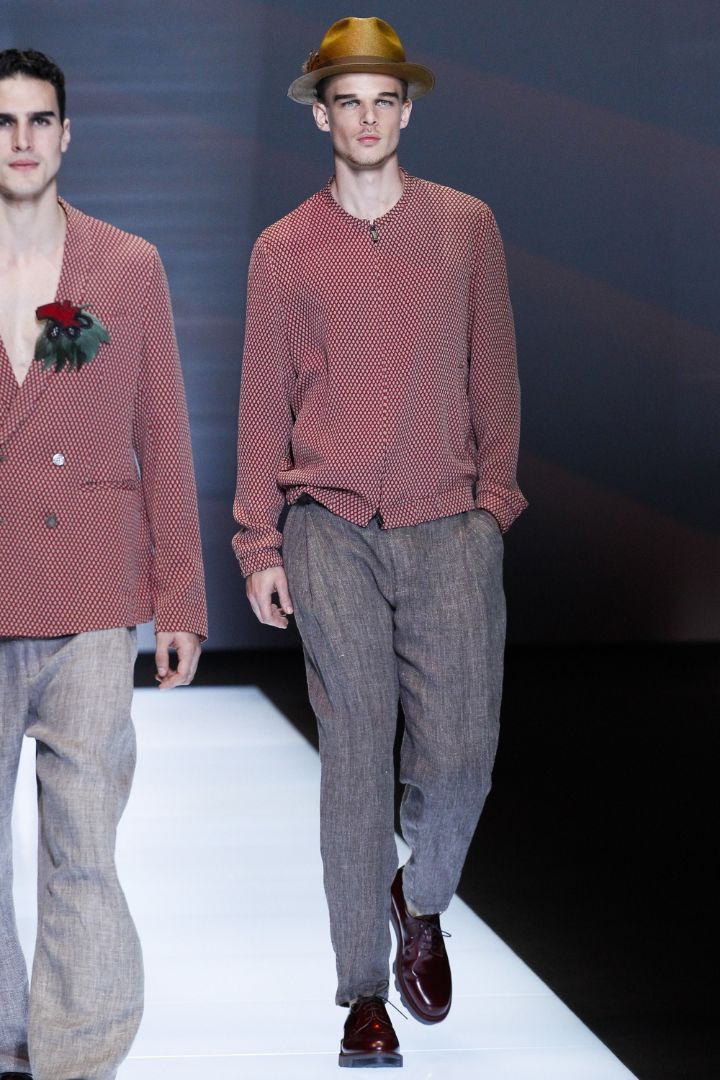 Emporio Armani Menswear SS 2017 Milan (66)