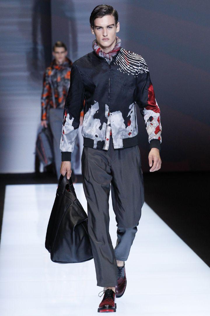 Emporio Armani Menswear SS 2017 Milan (67)