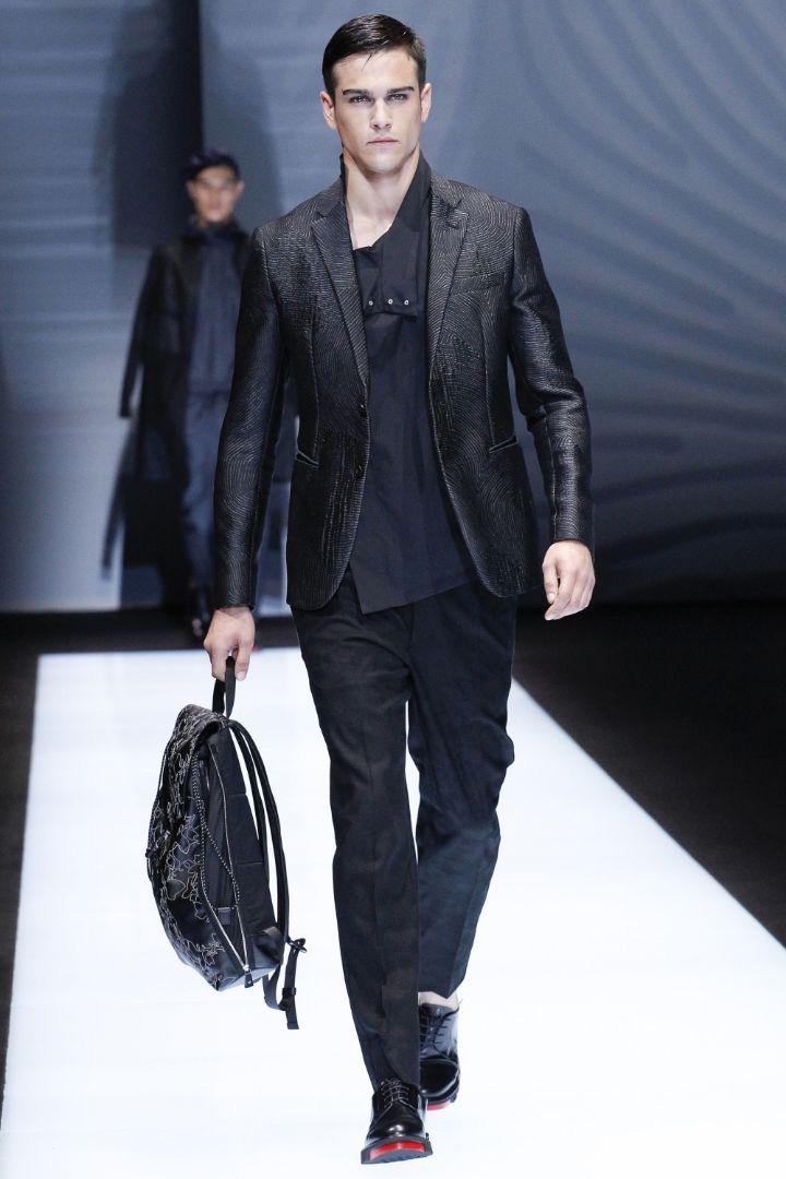 Emporio Armani Menswear SS 2017 Milan (7)