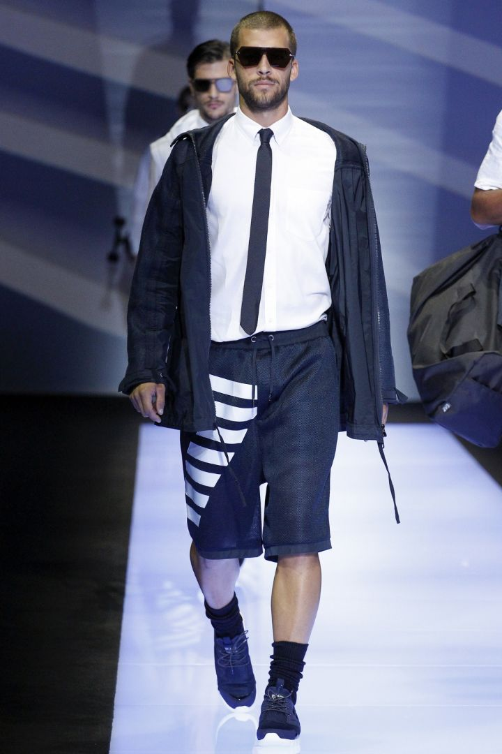 Emporio Armani Menswear SS 2017 Milan (70)