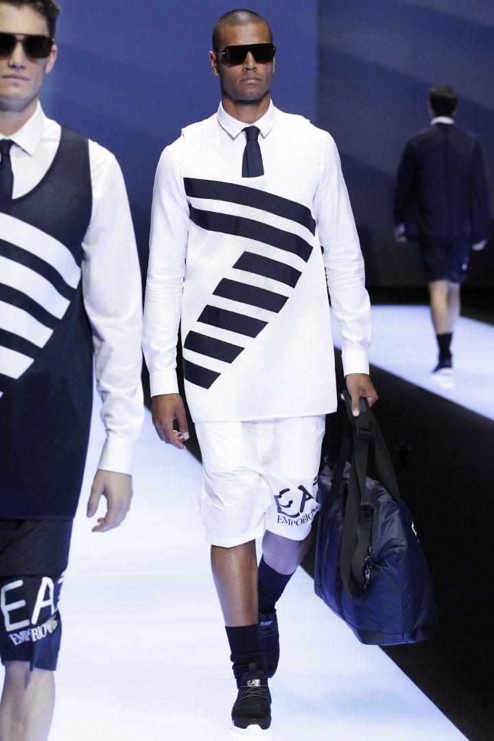 Emporio Armani Menswear SS 2017 Milan (74)