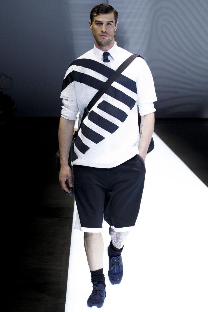 Emporio Armani Menswear SS 2017 Milan (75)