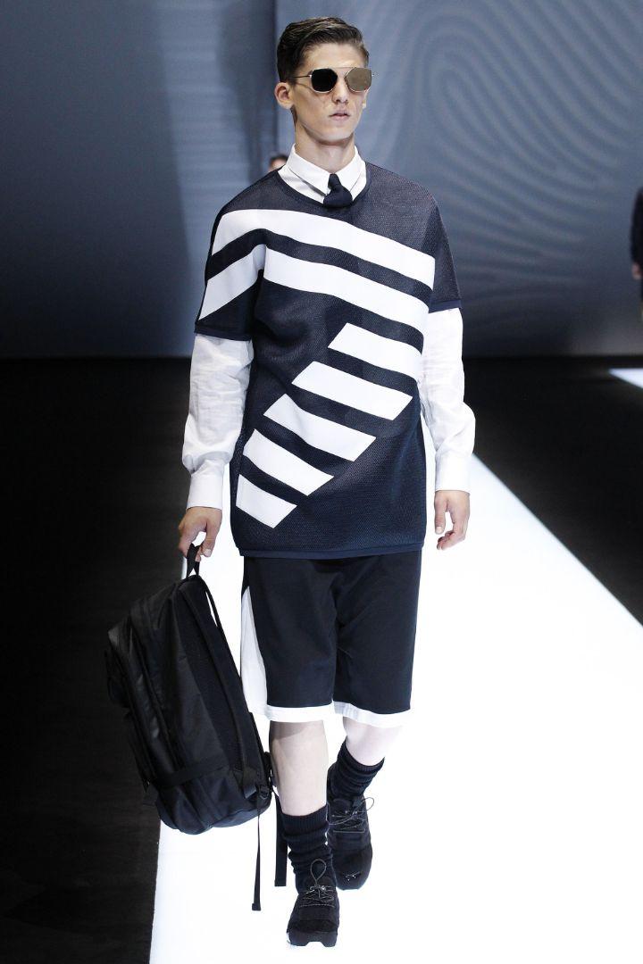 Emporio Armani Menswear SS 2017 Milan (76)