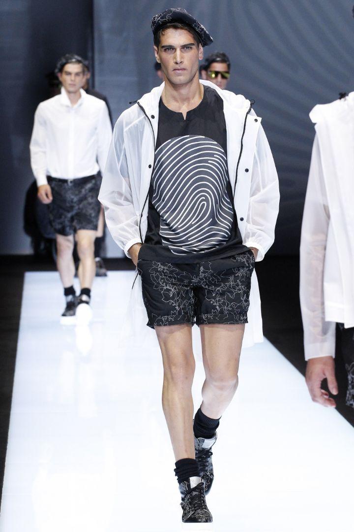 Emporio Armani Menswear SS 2017 Milan (78)