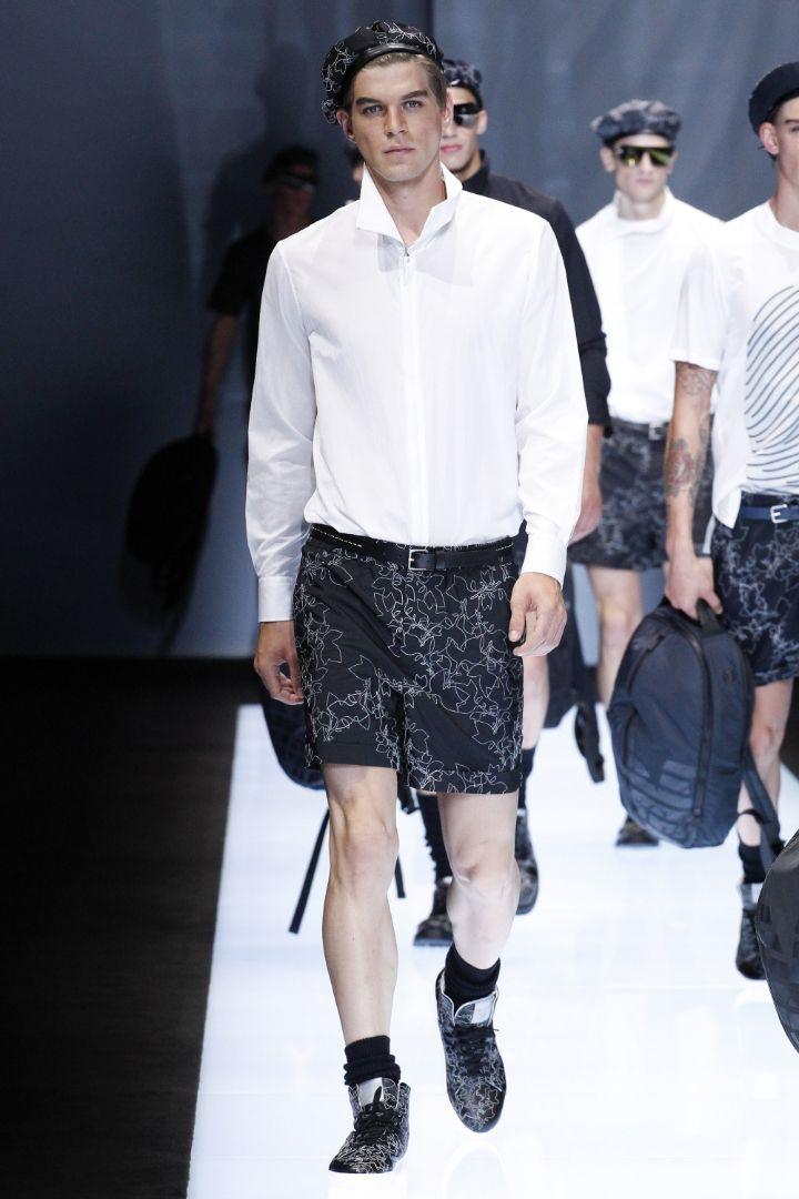 Emporio Armani Menswear SS 2017 Milan (79)