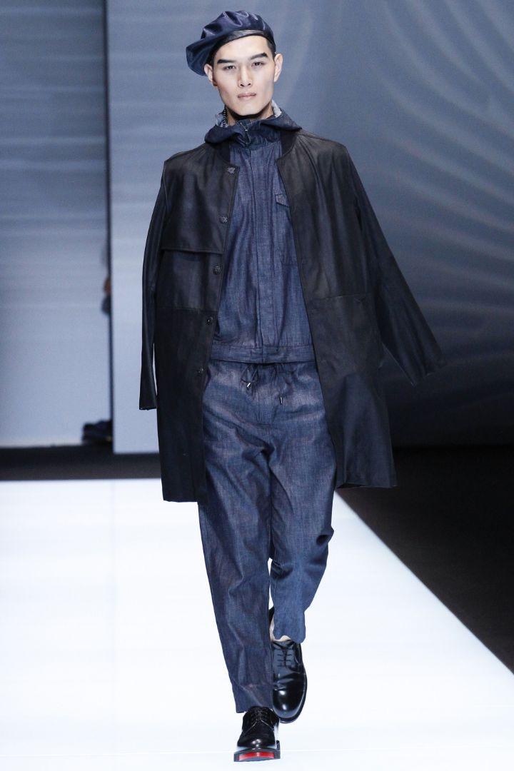 Emporio Armani Menswear SS 2017 Milan (8)