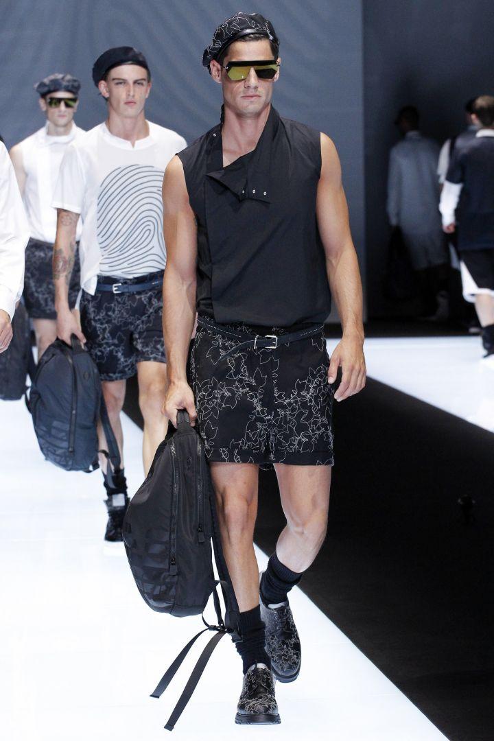 Emporio Armani Menswear SS 2017 Milan (80)