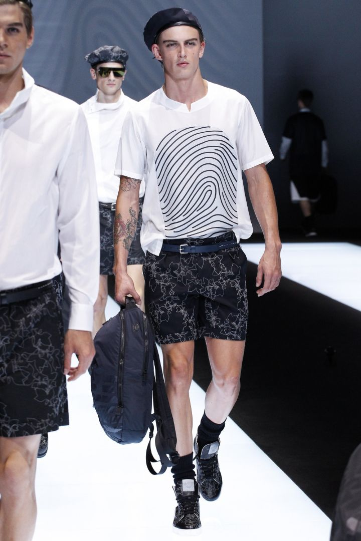 Emporio Armani Menswear SS 2017 Milan (81)