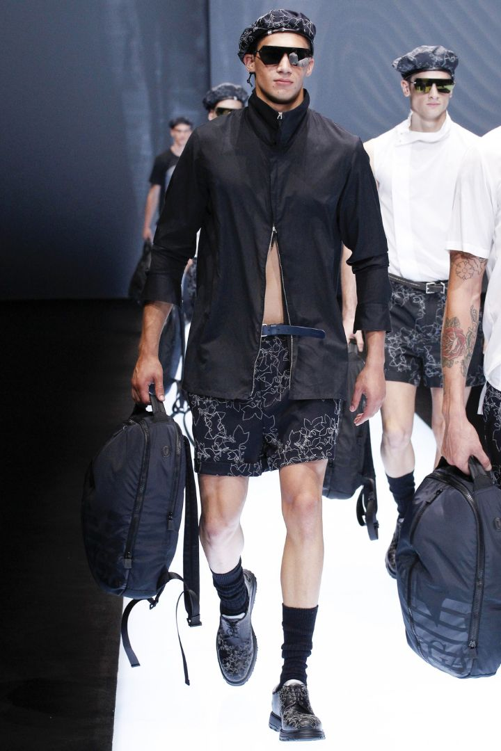Emporio Armani Menswear SS 2017 Milan (82)
