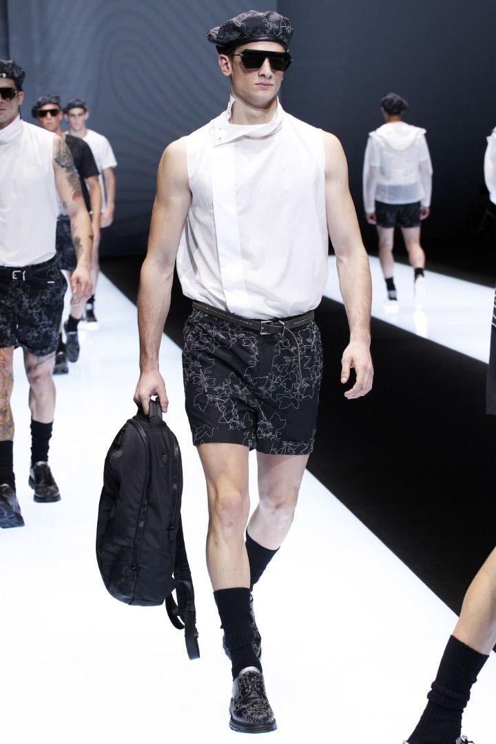 Emporio Armani Menswear SS 2017 Milan (83)