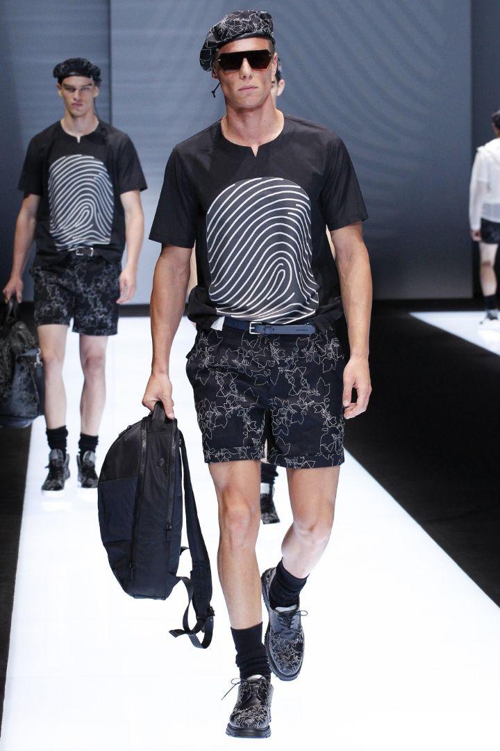 Emporio Armani Menswear SS 2017 Milan (85)