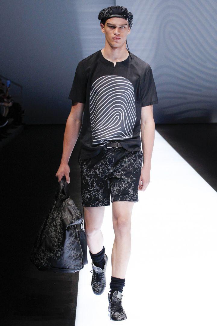 Emporio Armani Menswear SS 2017 Milan (87)