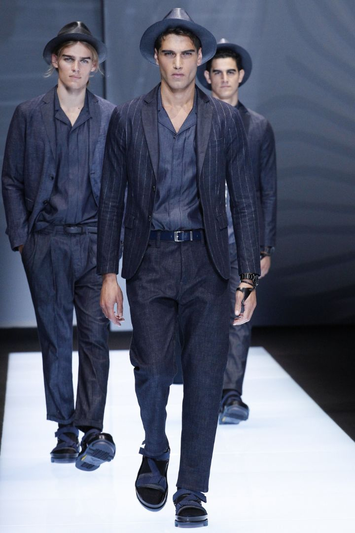 Emporio Armani Menswear SS 2017 Milan (9)