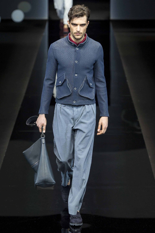 Giorgio Armani Menswear SS 2017 Milan (42)