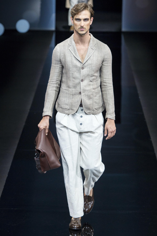 Giorgio Armani Menswear SS 2017 Milan (6)