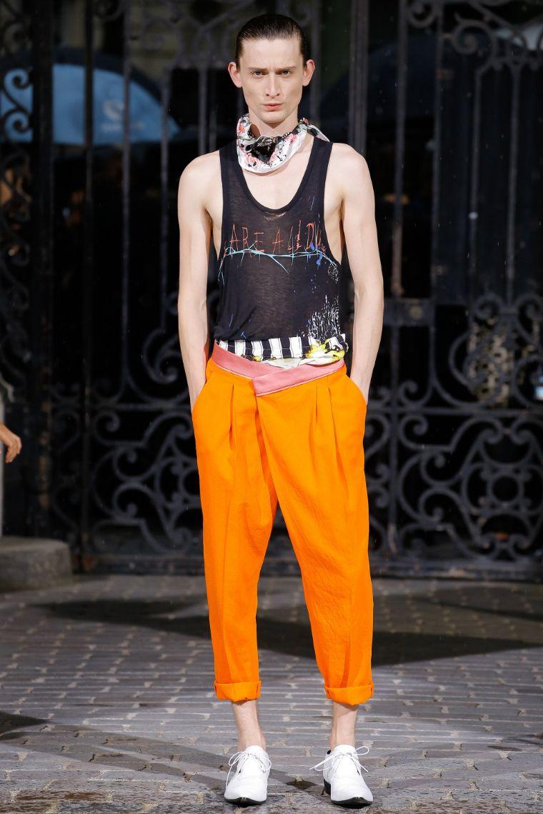 Haider Ackermann Menswear SS 2017 Paris (21)