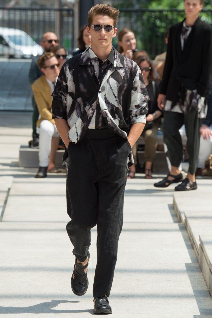 Issey Miyake Menswear SS 2017 Paris (17)