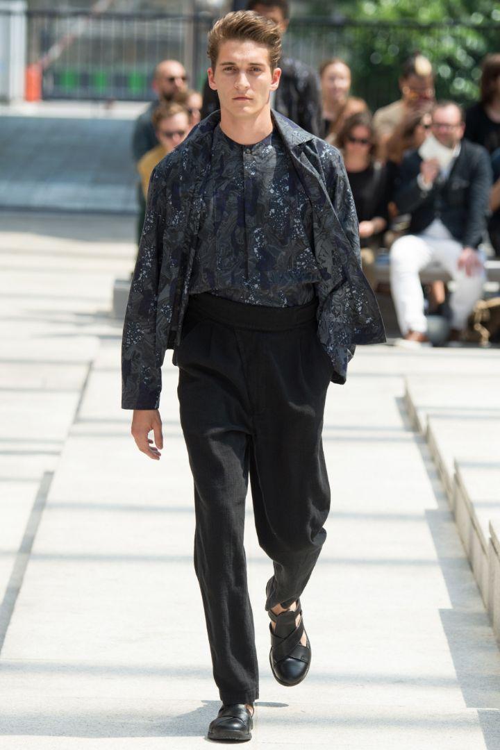 Issey Miyake Menswear SS 2017 Paris (34)