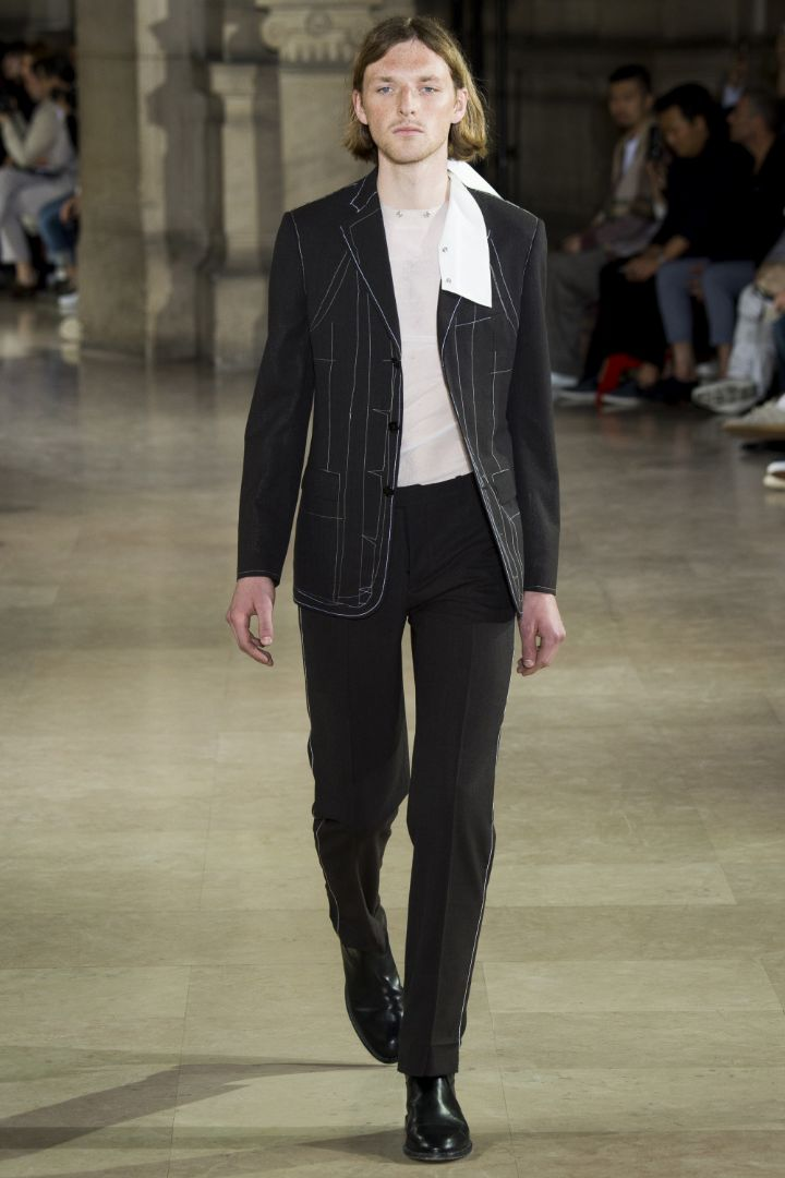 Maison Margiela Menswear SS 2017 Paris (1)