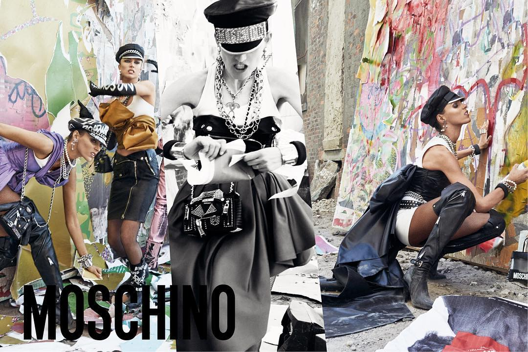 Moschino FW 2017 Campaign by Steven Meisel (2)