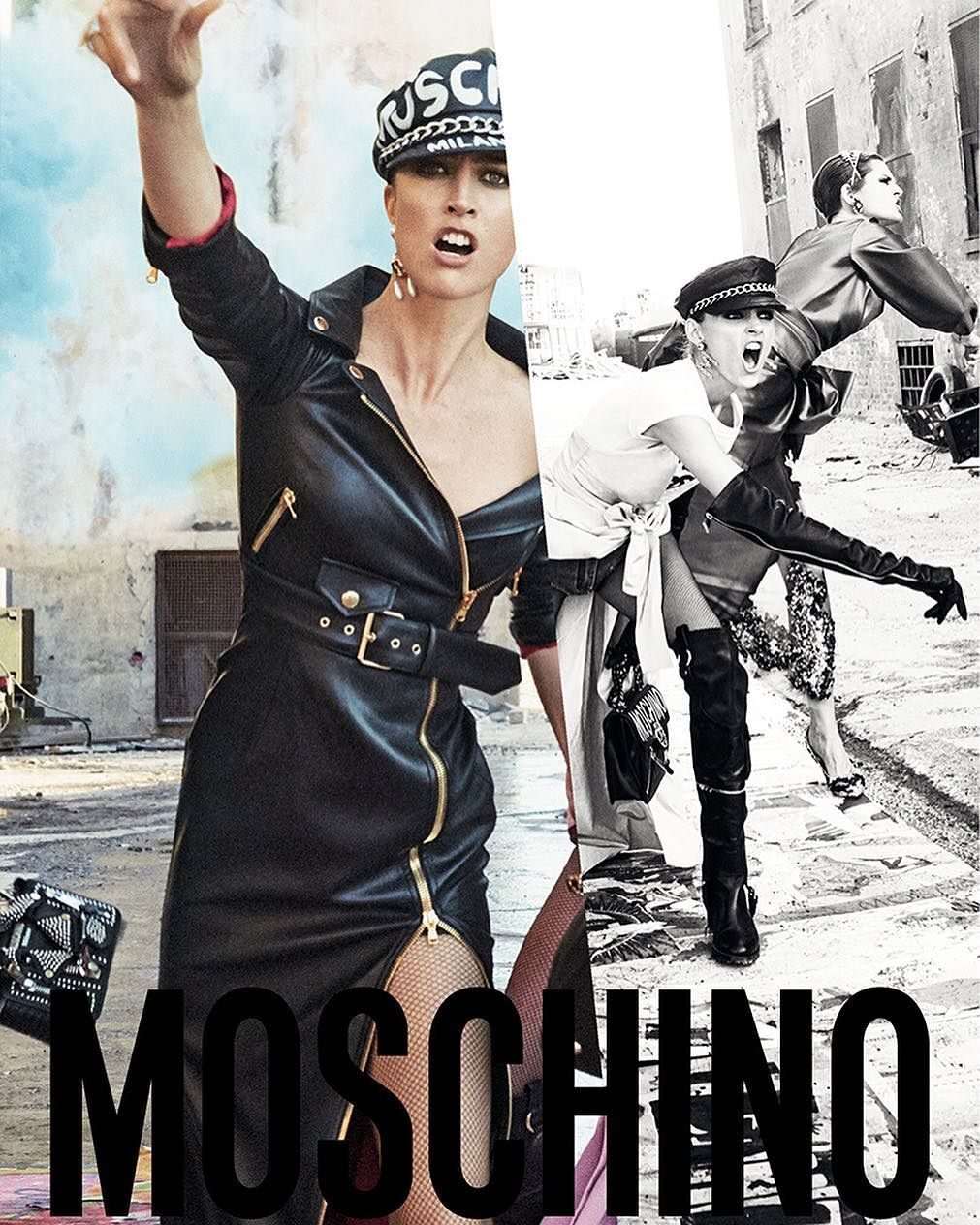 Moschino FW 2017 Campaign by Steven Meisel (4)