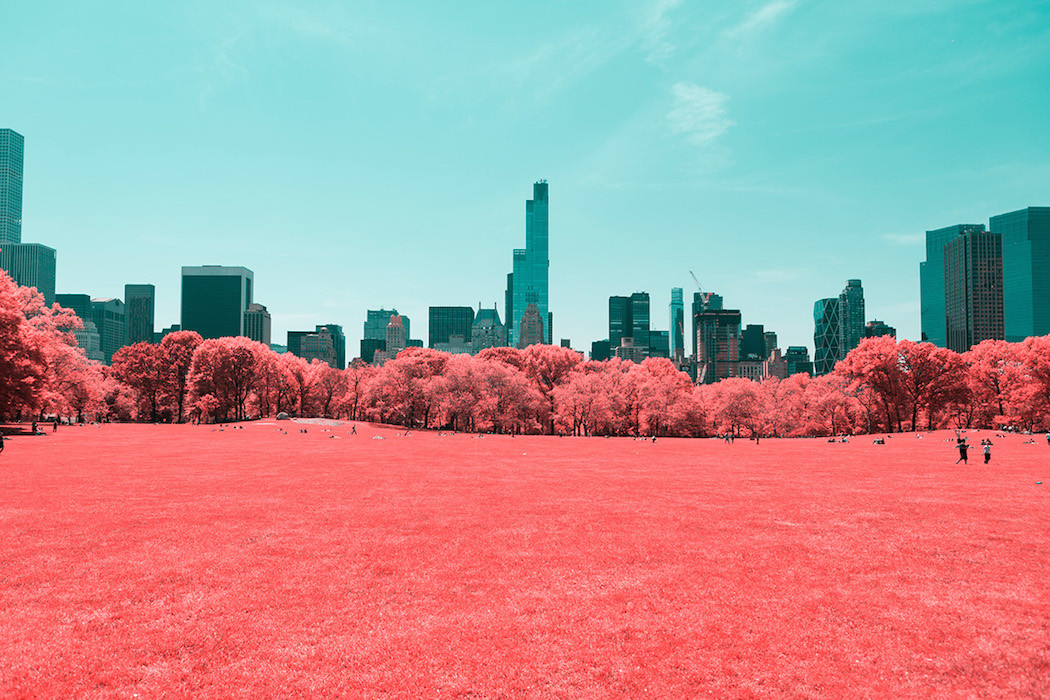 New York in Infrared Photography Series (4)