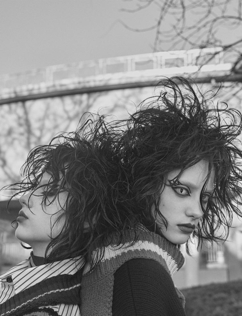 Odette Pavlova & Lia Pavlova by Craig McDean (8)