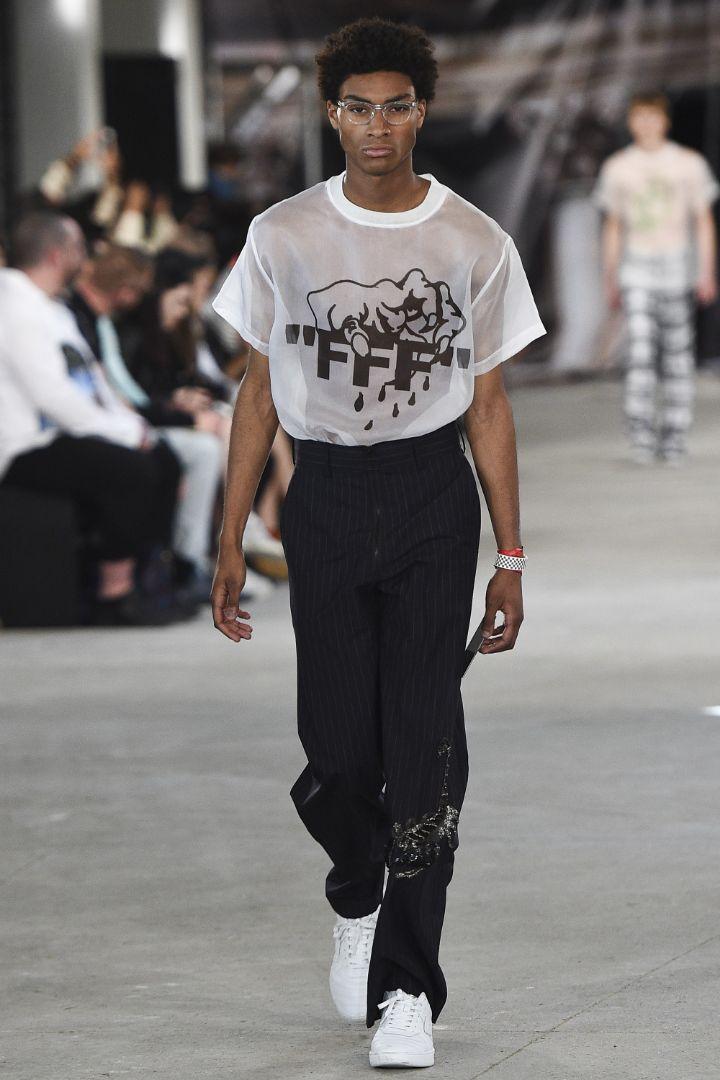 Off-White Menswear SS 2017 Paris (2)