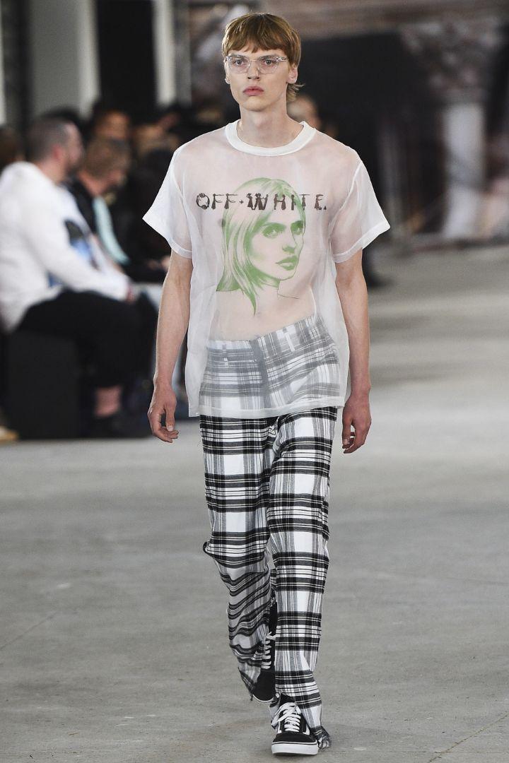 Off-White Menswear SS 2017 Paris (3)