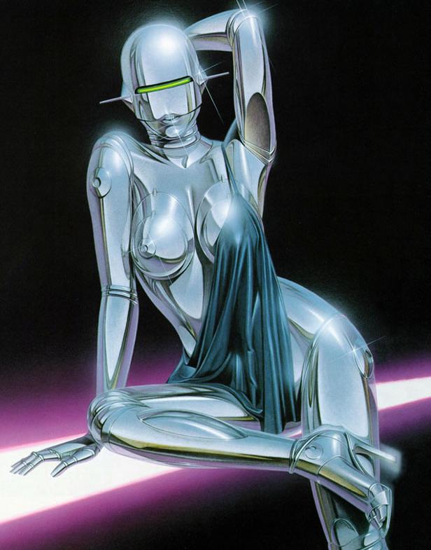 Sexy Robot by Hajime Sorayama (2)