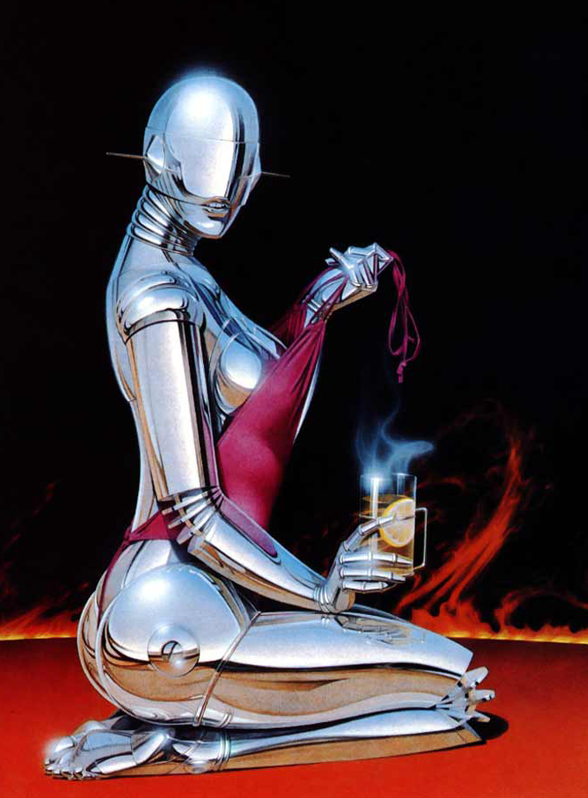 Sexy Robot by Hajime Sorayama (3)