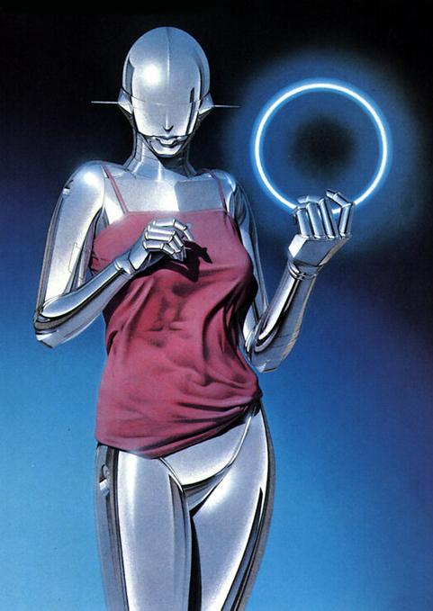 Sexy Robot by Hajime Sorayama (4)