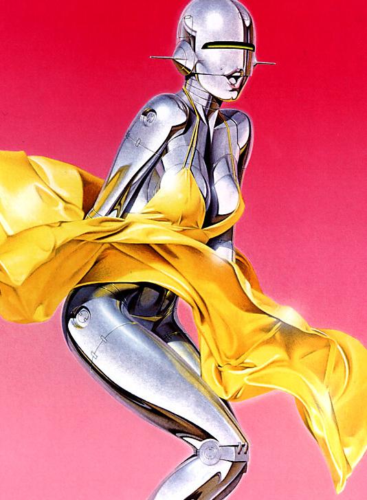 Sexy Robot by Hajime Sorayama (7)