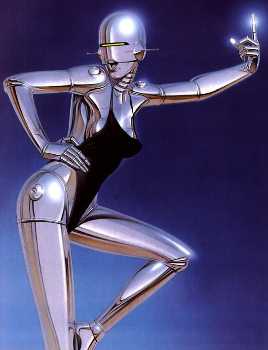 Sexy Robot by Hajime Sorayama (8)