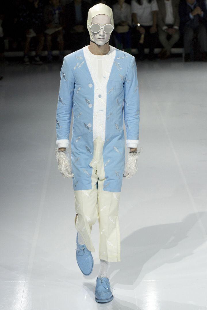 Thom Browne Menswear SS 2017 Paris (26)