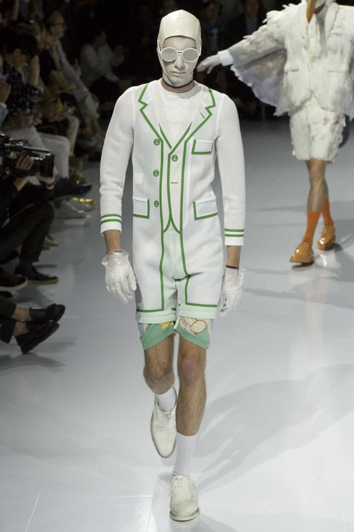 Thom Browne Menswear SS 2017 Paris (28)