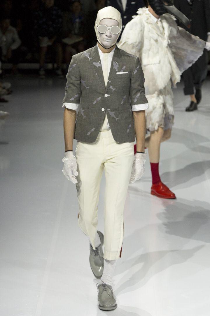 Thom Browne Menswear SS 2017 Paris (9)