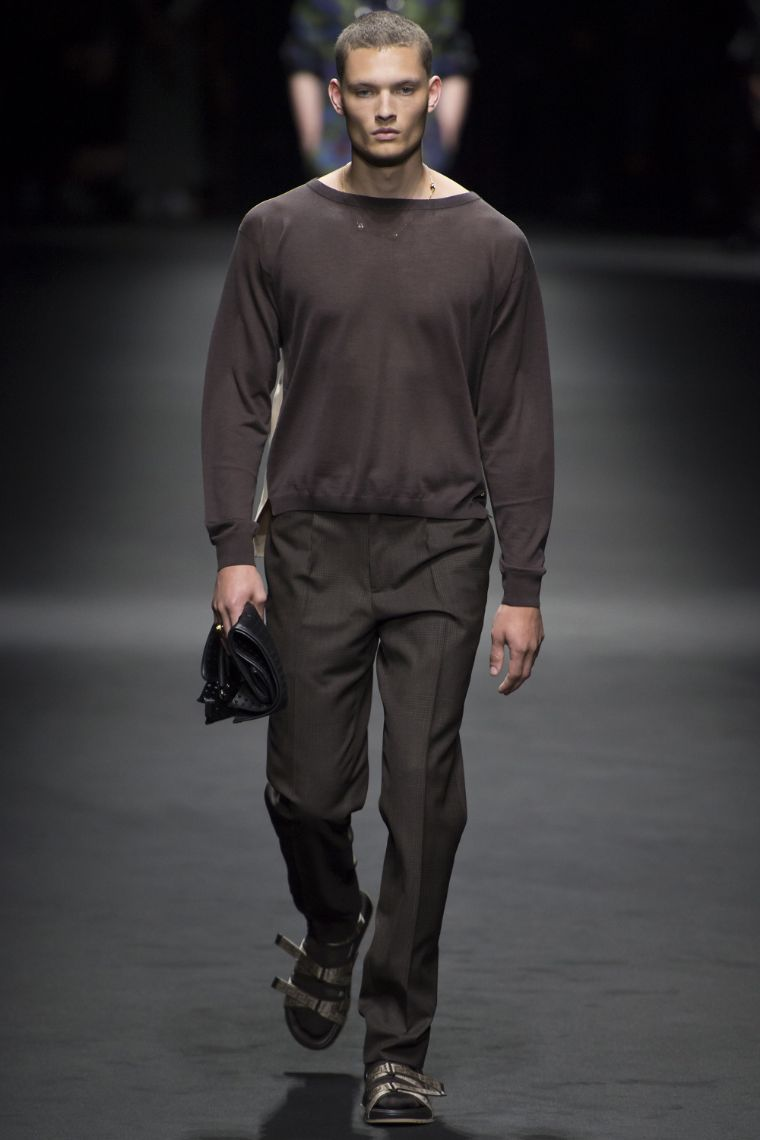 Versace Menswear SS 2017 Milan (3)