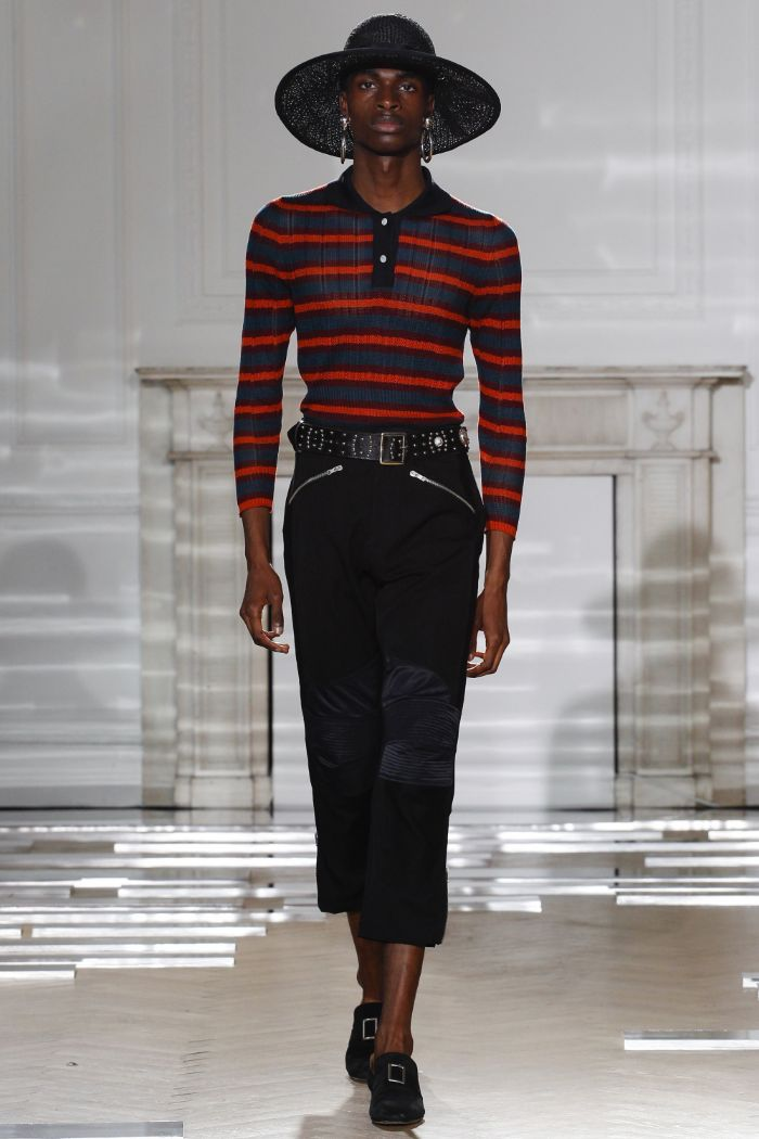 Wales Bonner Menswear SS 2016 London (12)