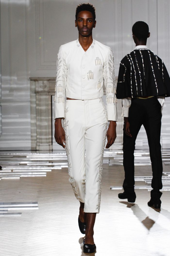 Wales Bonner Menswear SS 2016 London (15)