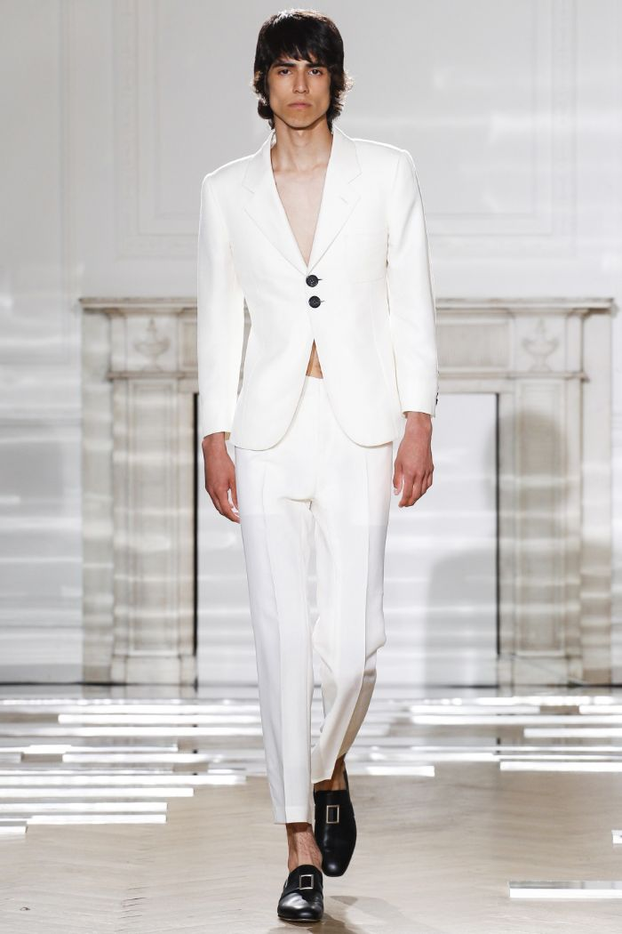 Wales Bonner Menswear SS 2016 London (2)