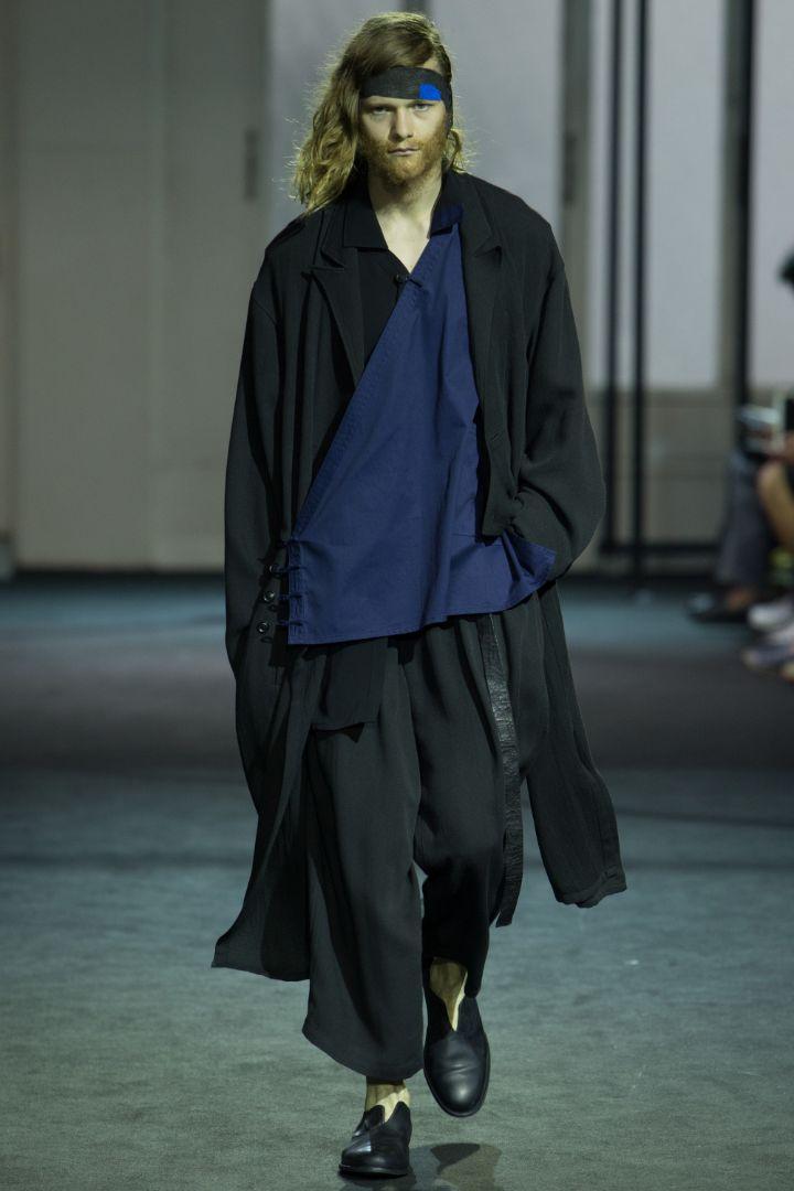 Yohji Yamamoto Menswear SS 2017 Paris (1)