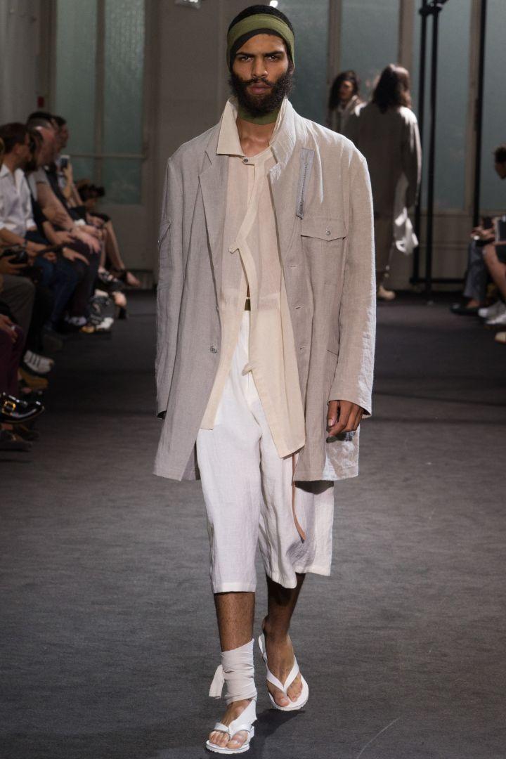 Yohji Yamamoto Menswear SS 2017 Paris (10)