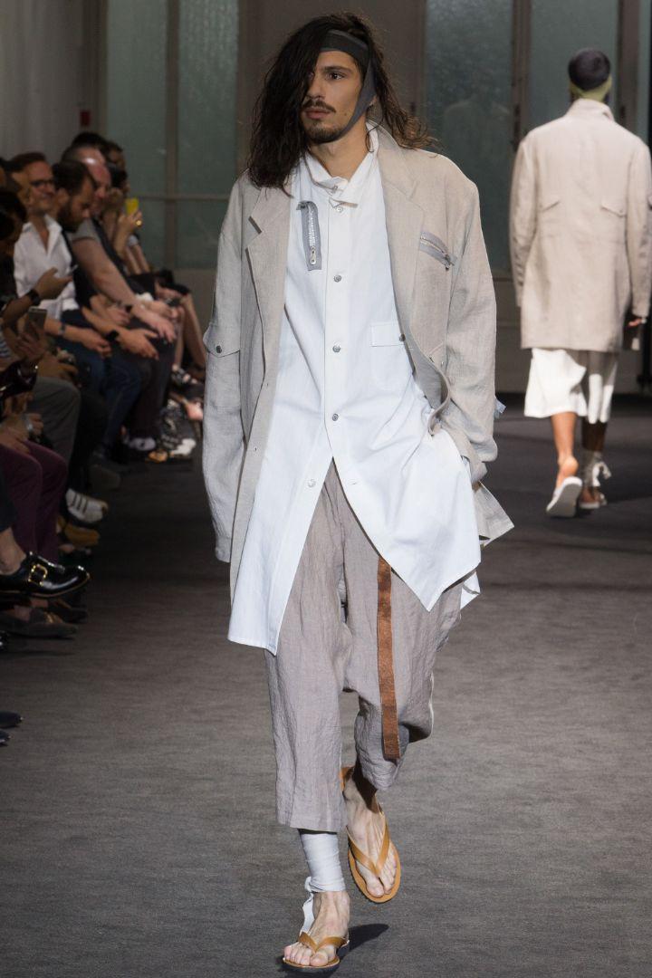 Yohji Yamamoto Menswear SS 2017 Paris (11)