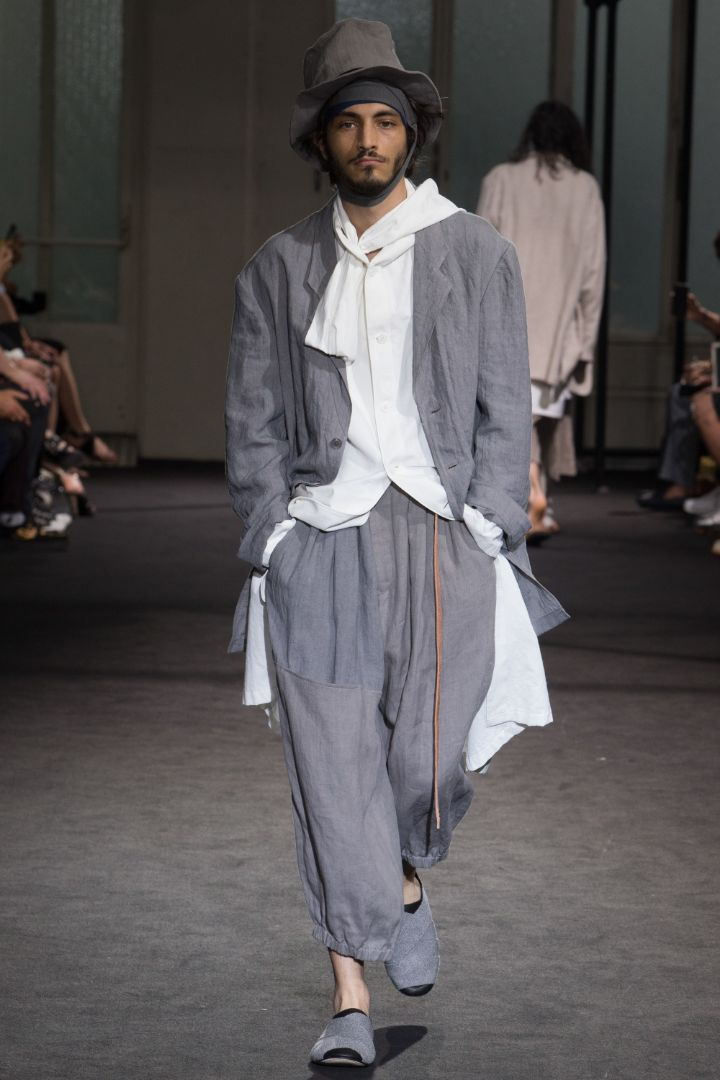 Yohji Yamamoto Menswear SS 2017 Paris (12)