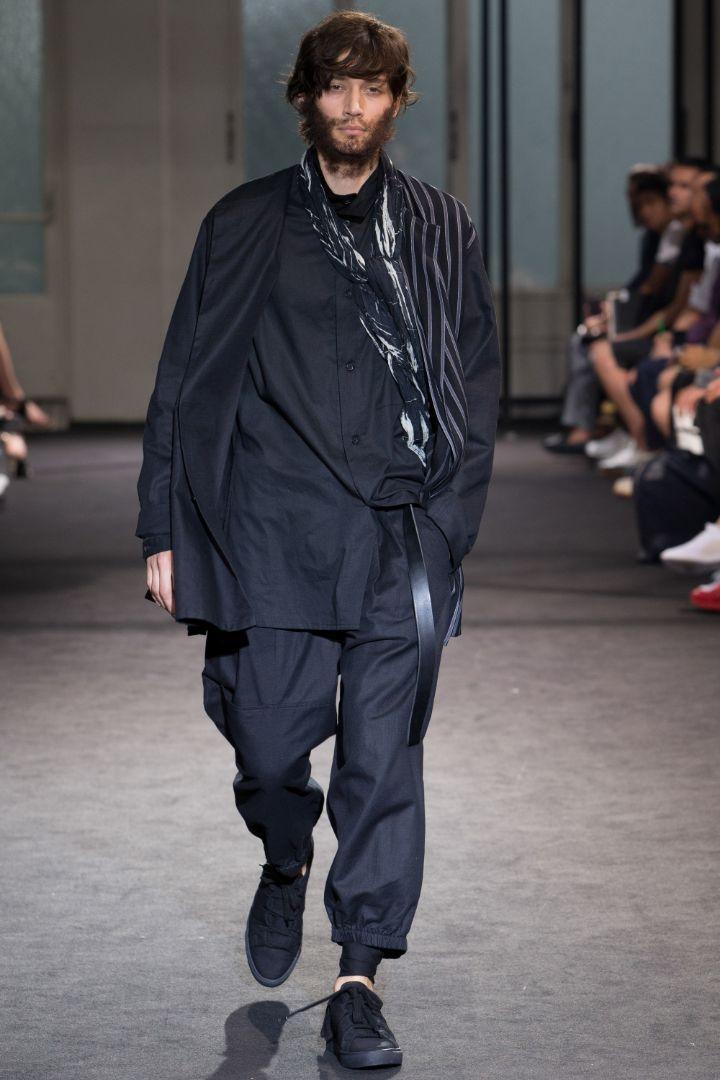 Yohji Yamamoto Menswear SS 2017 Paris (13)