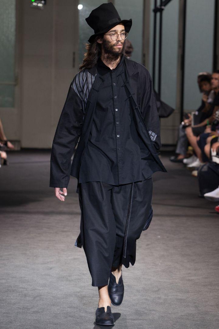 Yohji Yamamoto Menswear SS 2017 Paris (14)