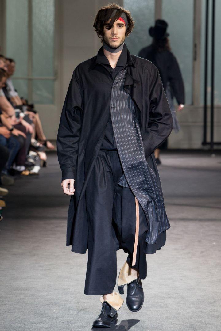 Yohji Yamamoto Menswear SS 2017 Paris (15)