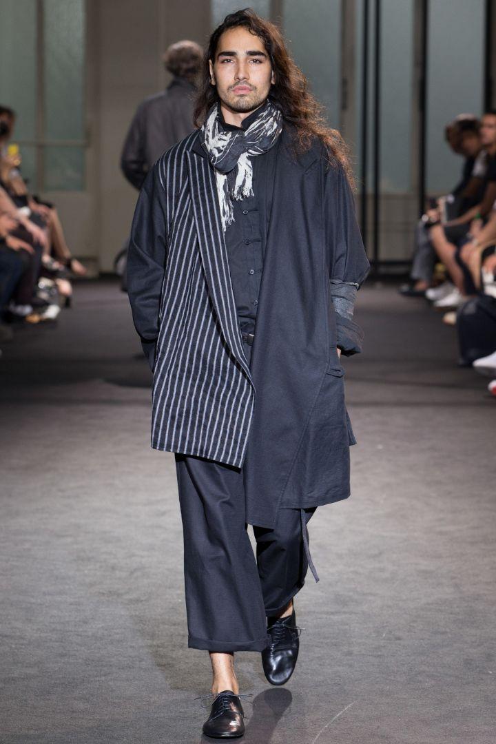 Yohji Yamamoto Menswear SS 2017 Paris (16)