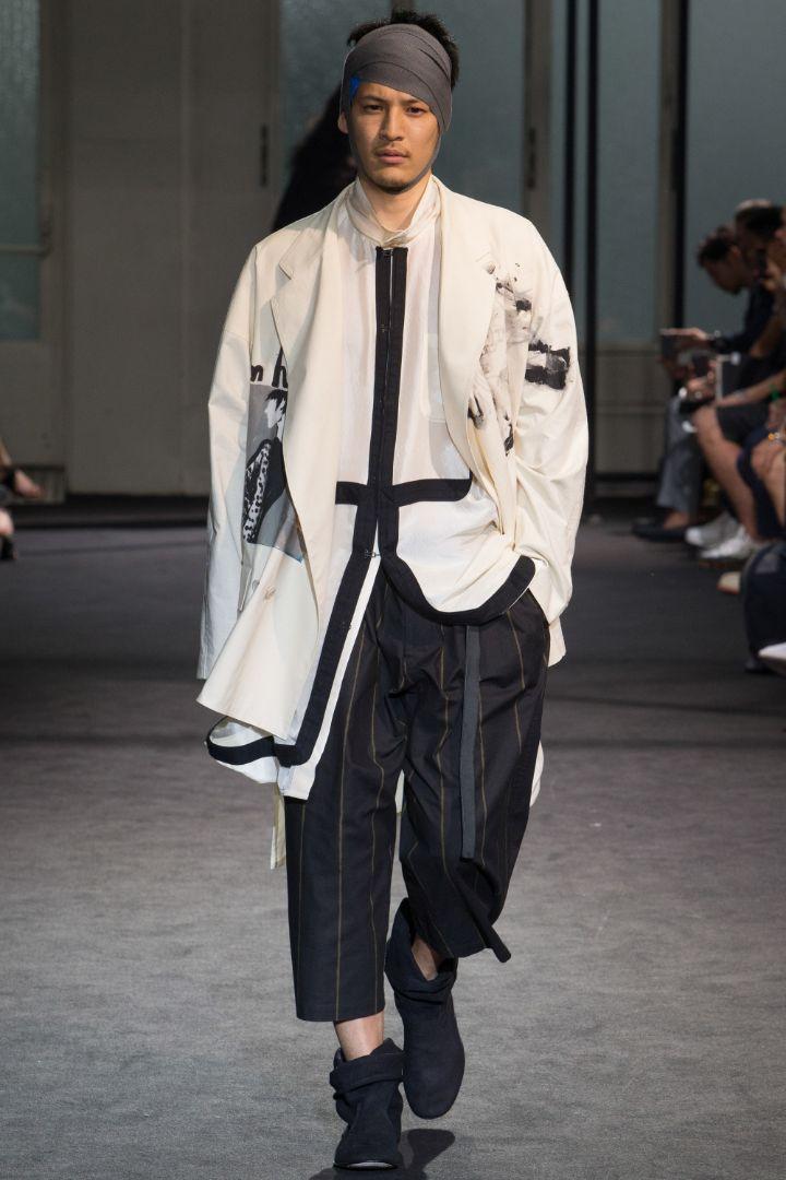 Yohji Yamamoto Menswear SS 2017 Paris (17)